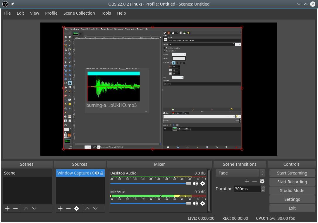OBS Studio 23 released - Cinelerra GG